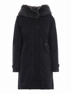 WOOLRICH: cappotti imbottiti - Parka Literary Rex con imbottitura removibile