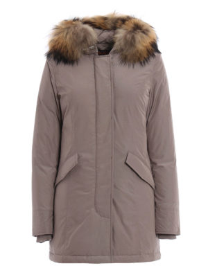 Woolrich: padded coats - Lux Artic Parka fitted padded coat