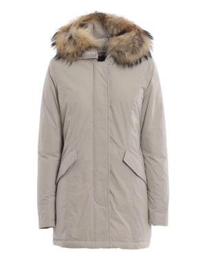 WOOLRICH: cappotti imbottiti - Piumino Luxury Arctic beige