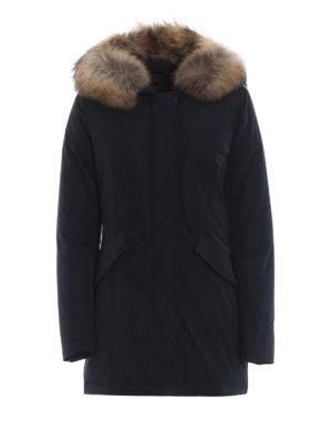 WOOLRICH: cappotti imbottiti - Piumino Luxury Arctic blu