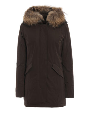 WOOLRICH: cappotti imbottiti - Piumino Luxury Arctic marrone