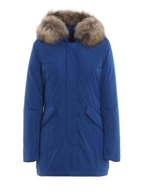 WOOLRICH: cappotti imbottiti - Piumino Luxury Arctic blu cobalto