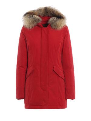 WOOLRICH: cappotti imbottiti - Piumino Luxury Arctic rosso