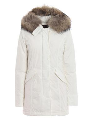 WOOLRICH: cappotti imbottiti - Piumino Luxury Arctic bianco