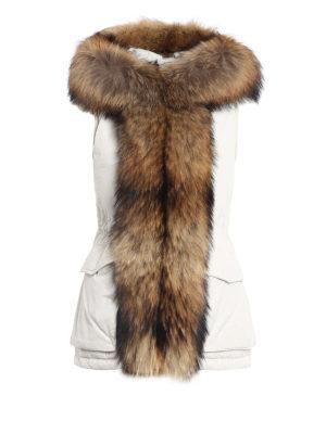 Woolrich: padded coats - Military sleeveless coat