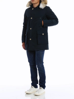 Woolrich: padded coats online - Arctic Parka slim padded coat