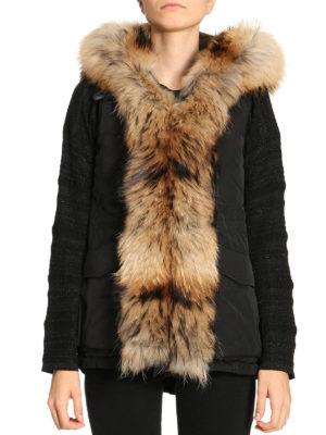 Woolrich: padded coats online - Military black sleeveless coat