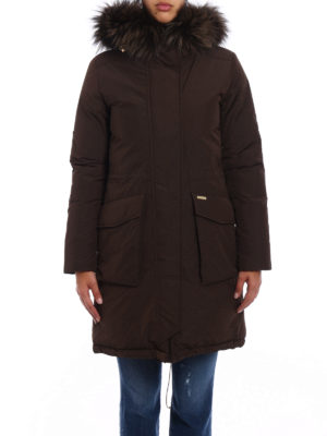 Woolrich: padded coats online - Military Parka