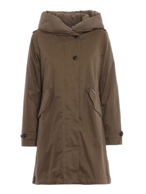 WOOLRICH: cappotti imbottiti - Parka Prescott con interno staccabile