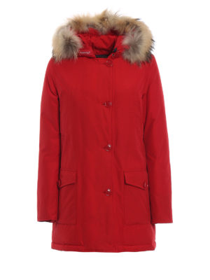 WOOLRICH: cappotti imbottiti - Arctic Parka Df rosso