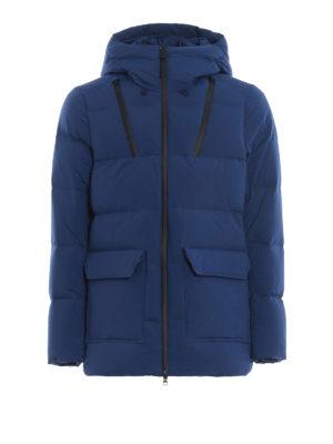 WOOLRICH: cappotti imbottiti - Piumino blu elettrico Comfort Parka