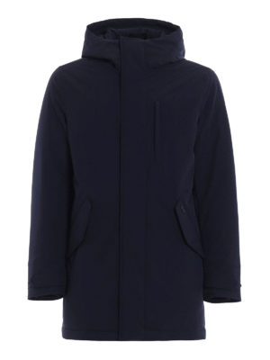 Woolrich: padded coats - Stretch Military padded parka