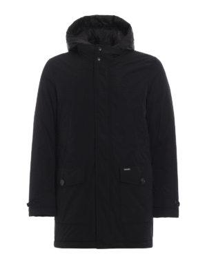 WOOLRICH: giacche imbottite - Piumino Trench City nero