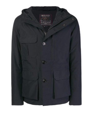 WOOLRICH: giacche imbottite - Giacca imbottita in piuma con maxi tasche