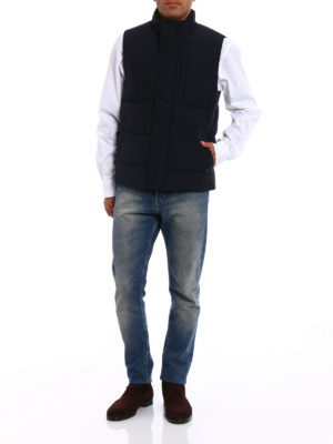 Woolrich: padded jackets online - Auletian sleeveless padded jacket