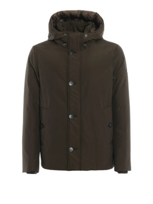 WOOLRICH: giacche imbottite - Giacca South Bay verde