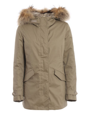 238a4989ad WOOLRICH: parka - Parka Arctic beige 3 in 1
