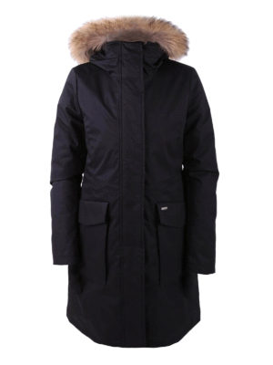 Woolrich: parkas - Black cotton Military Parka