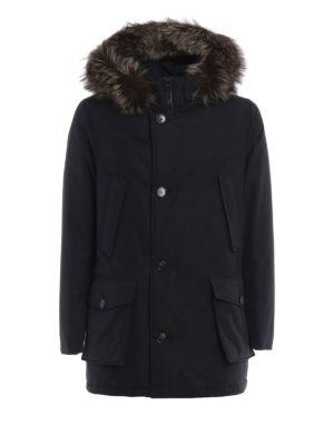 Woolrich: parkas - Cotton and nylon Military parka