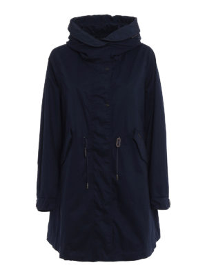 Woolrich: parkas - Cotton canvas Over Parka