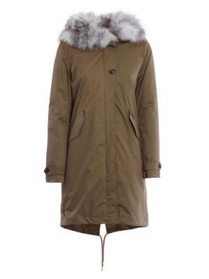 Woolrich: parkas - Fox fur detailed hooded eskimo