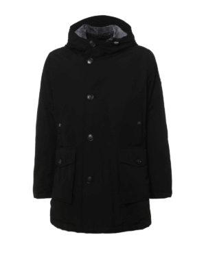 Woolrich: parkas - Fur detachable collar warm parka