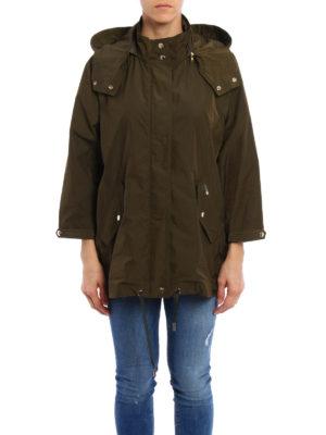 Woolrich: parkas online - Anorak windproof cape style parka