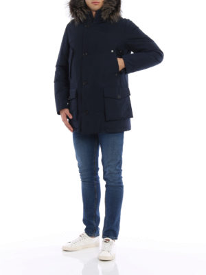 Woolrich: parkas online - Cotton and nylon Military parka
