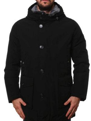Woolrich: parkas online - Fur detachable collar warm parka