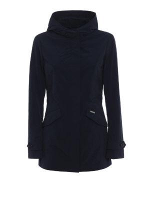 Woolrich: parkas - Summer hooded short parka