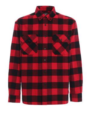 WOOLRICH: camicie - Camicia a quadri Alaskan Buffalo