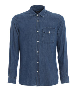 WOOLRICH: shirts - Denim shirt