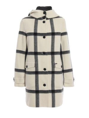 WOOLRICH: cappotti corti - Cappotto Marcy con gilet imbottito