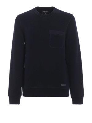 WOOLRICH: Felpe e maglie - Felpa girocollo in cotone e lana