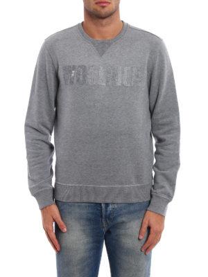 Woolrich: Sweatshirts & Sweaters online - Logo detailed sweatshirt