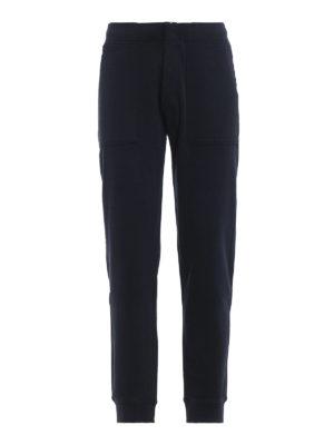 WOOLRICH: pantaloni sport - Pantaloni da tuta in cotone