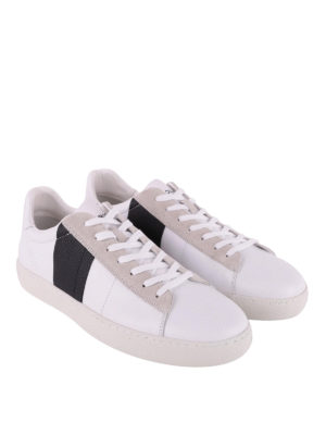 Woolrich: trainers online - Court Low leather sneakers