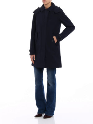 Woolrich: trench coats online - Charlotte stretch nylon trench coat