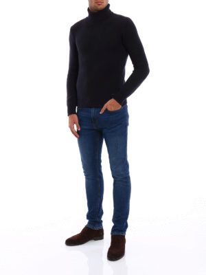 Woolrich: Turtlenecks & Polo necks online - Soft and warm wool blend turtleneck
