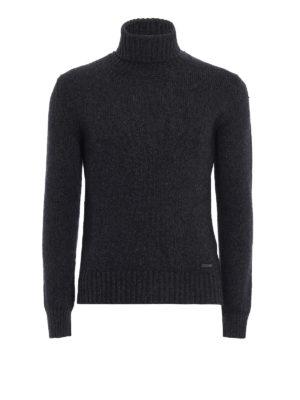 Woolrich: Turtlenecks & Polo necks - Soft and warm wool blend turtleneck
