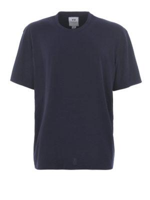Y-3: t-shirts - Y-3 print T-shirt