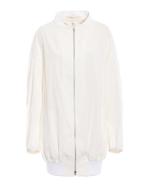 Y's: bombers - Cotton canvas oversized bomber