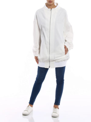 Y's: bombers online - Cotton canvas oversized bomber