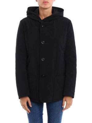 Y's: padded jackets online - Technical fabric padded jacket