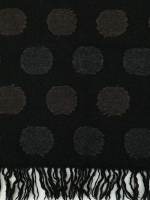 Y's: scarves online - Embossed pattern wool scarf