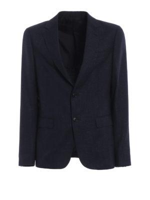 Z ZEGNA: giacche blazer - Giacca in lana e viscosa jacquard