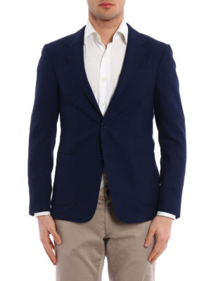 Z Zegna: blazers online - Micro patterned Shirt Jacket