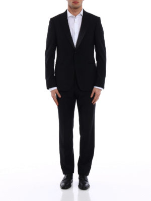 Z Zegna: dinner suits online - Turati peak lapels black tuxedo
