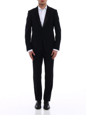 Z Zegna: dinner suits online - Turati peak lapels dark blue tuxedo