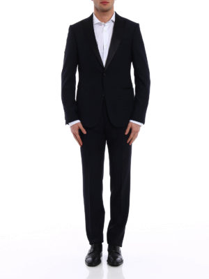 Z Zegna: dinner suits online - Turati peak lapels wool tuxedo